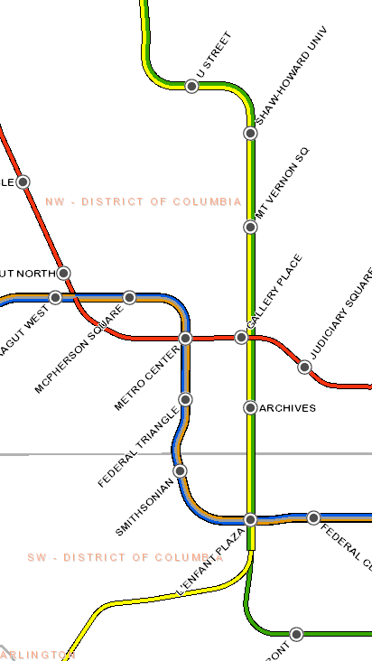 Metro Train Dc Map.Live Train Map